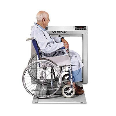 Welch Allyn 6202 Stow-A-Weigh Wheelchair Scale