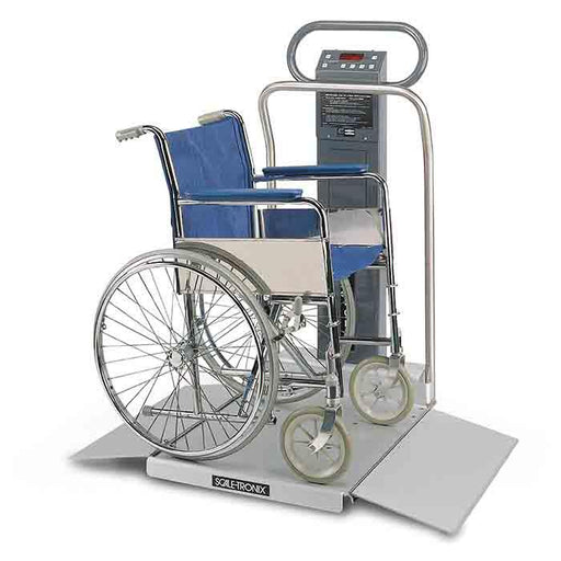 Welch Allyn Scale-Tronix 6702 Oversized Wheelchair Scale