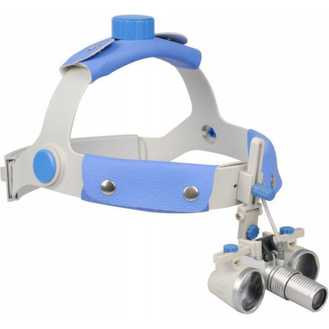 Zumax SLH Binocular Loupes with HL8300 Headlight
