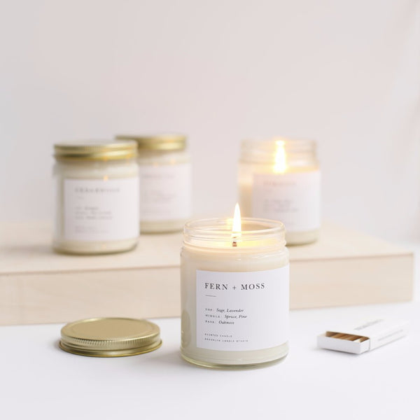 Minimalist Jar Candles