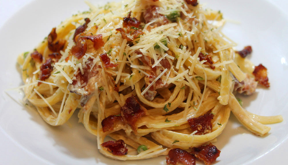 BUFFALO BACON CARBONARA