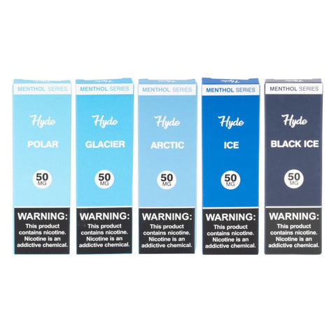 AUTHENTIC HYDE MENTHOL SERIES ORIGINAL OG DISPOSABLE ECIG VAPE PEN VAPORIZER