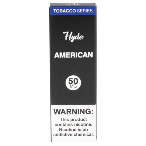 AUTHENTIC HYDE TOBACCO SERIES ORIGINAL OG DISPOSABLE ECIG VAPE PEN VAPORIZER