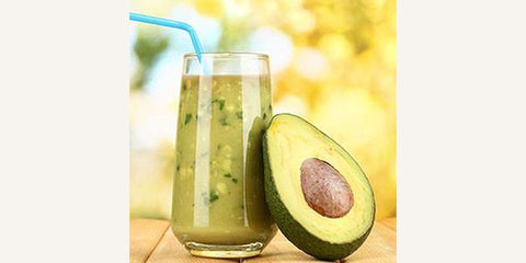 Acne-Reducing Avocado Smoothie Recipe by Teadora