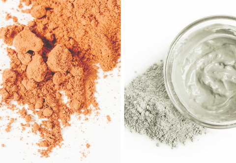 Comparison: Brazilian Mineral Red Clay vs. Bentonite Clay