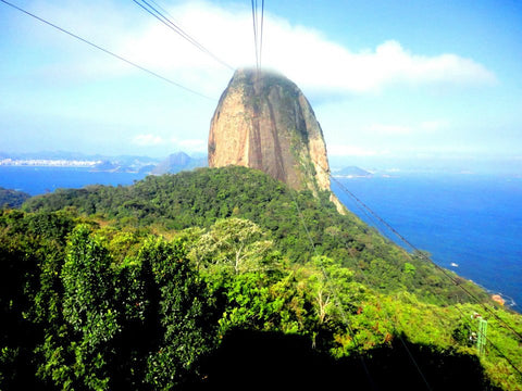 <p>From 1912, Rio de Janeiro changed its tourism map - nothing was the same after the launch of Sugarloaf Cable Car (Bondinhos). The bondinhos coming and going up and down the mountain it is part of Rio landscape. Combined with Christ the Redeemer the Sugarloaf is the mark of the City. </p> <p>Passing by the Guanabara Bay - it can be at the City Center, by Urca, Botafogo, Flamengo or Niteroi District, we see the astonishing curves of Sugarloaf bondinhos connecting with Urca Hill. This great idea to connect both hills and make visitors enjoy the view of Rio from the top came from a Brazilian engineer in 1907, few years later it come out of paper.</p> <p>Nowadays, the attraction has full entertainment during the day but also at some special nights for shows, concerts and events at Morro da Urca club. The highlight event for you enjoy the superb view from Rio night lights it's the New Year Eve party. Imagine celebrate a new year from the top the Atlantic Forest Mountain, with colorful fireworks exploding right in front your eyes, listening to legitimates songs and all that Carioca's vibes - yes, it makes me excited too! </p>