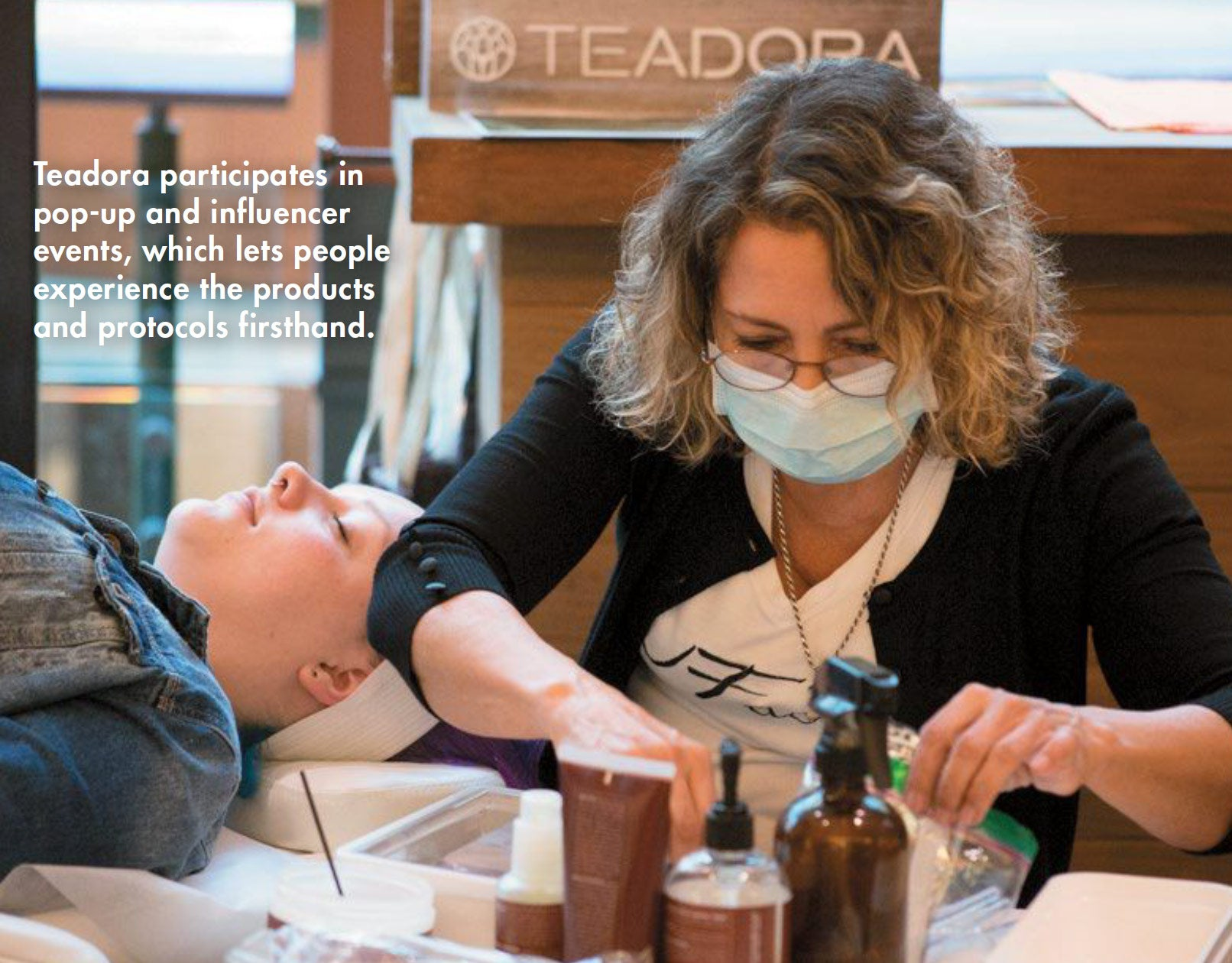 American Spa - Indie Beauty - Teadora Event