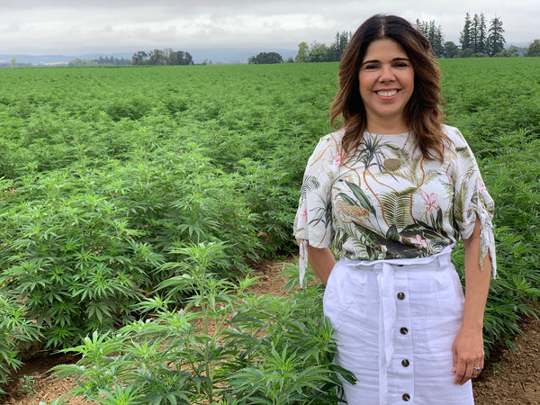 teadora owner val at cannabis farm