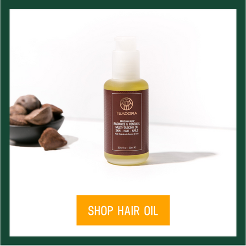 teadora multi-tasking hair oil