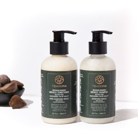 teadora vegan shampoo and conditioner