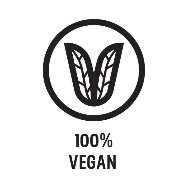 100% vegan beauty product