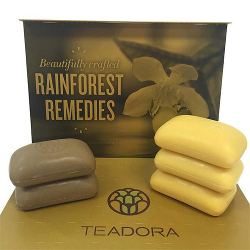 Organic Exfoliating Clay & Toning Bars Set