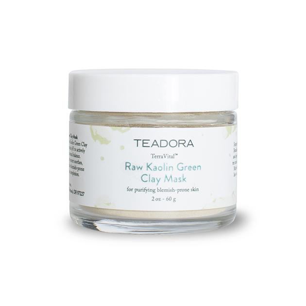 Raw Kaolin Clay Mask – Red, Rose, Green - Teadora