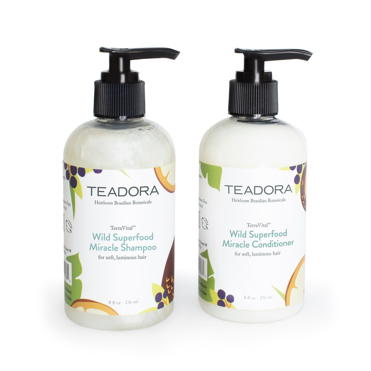 Wild Superfood Miracle Shampoo & Conditioner Set