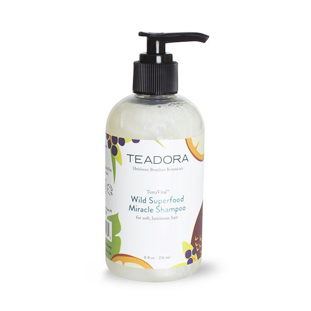 Wild Superfood Miracle Shampoo - Teadora