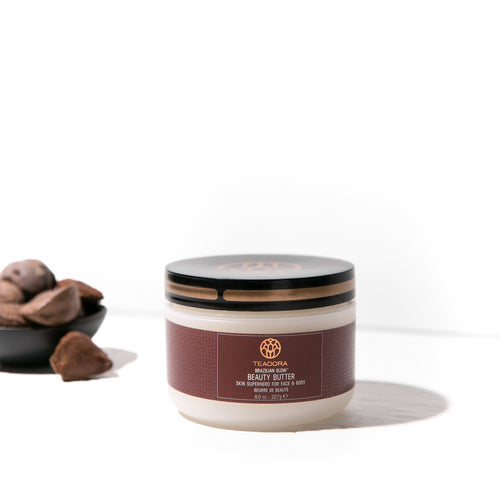 Brazilian Glow Beauty Butter & Red Clay Scrub Set | Vegan Skincare