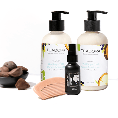 Brazilian Glow Beauty Oil & Red Clay Scrub Set