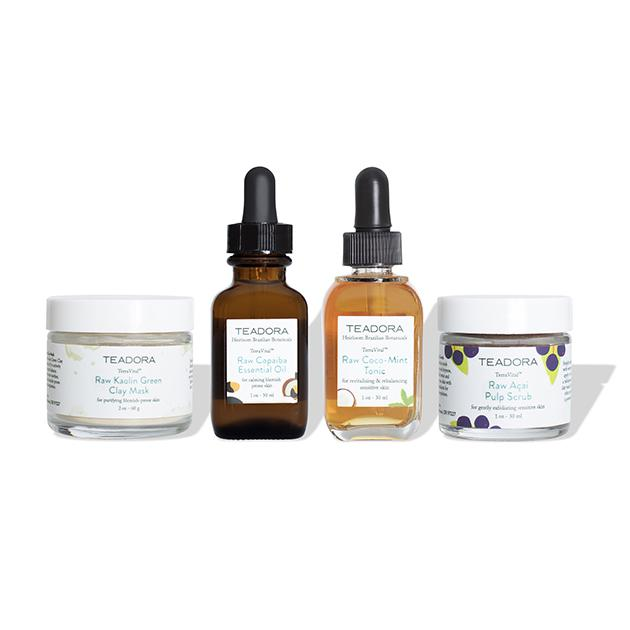 Raw Skincare Discovery Set + GWP for Acne Prone Skin - Teadora