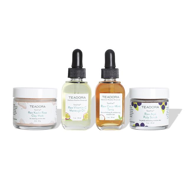 Raw Skincare Discovery Set + GWP - Sensitive Skin - Teadora
