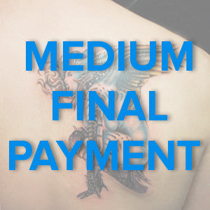 Medium Tattoo Design Final Payment