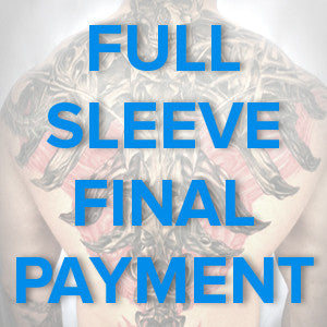 Tattoo Sleeve Design Final Payment