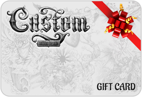 Custom Tattoo Design : Gift Card