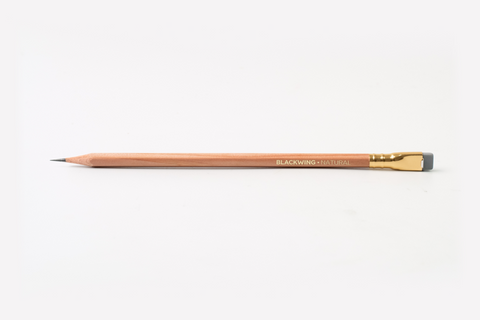 PALOMINO BLACKWING Natural Crayon en Bois Extra-Ferme [BLKWG-NAT]