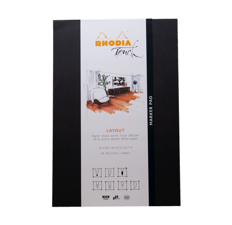 RHODIA Touch cahier Layout A4+