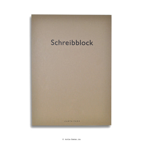 Carta Pura bloc-notes Schreibblock A4 [990.117]