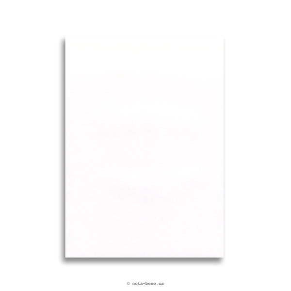 Clairefontaine Bloc Correspondance Triomphe A4 Uni • Blank Sheets [6170]