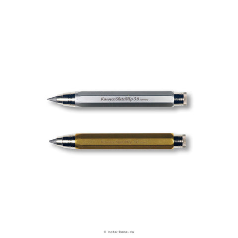 Kaweco Crayon de Croquis Sketch-Up Laiton 5.6mm • Brass Sketch Pencil [1000074..]