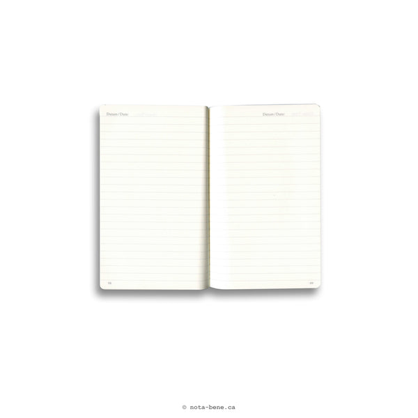 Leuchtturm 1917 Journal de poche A6 Rigide Noir Ligné • Pocket Hard Cover Black Lined [334821]