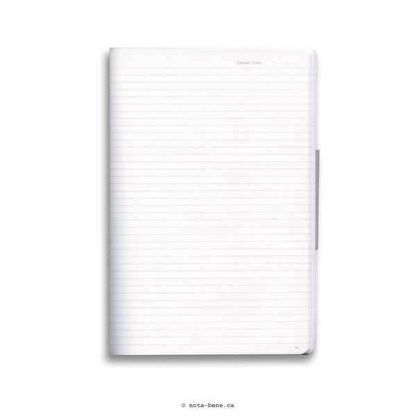 Leuchtturm 1917 Journal Composition B5 souple uni• Blank Composition journal Soft Cover Black [349295]