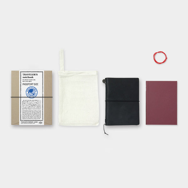 Midori Traveler's Notebook Trousse de Démarrage Passeport • Starter Kit Passport [1502]