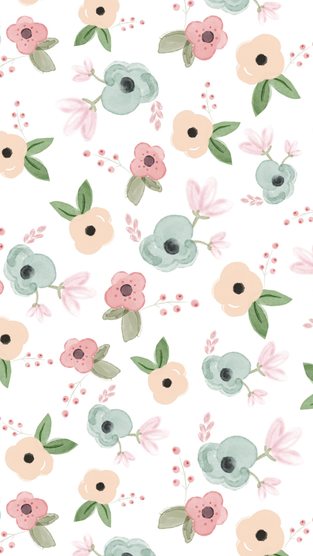 iphone 6s floral bg