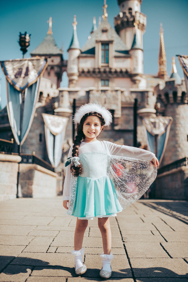 Frosted Ice Princess Dress