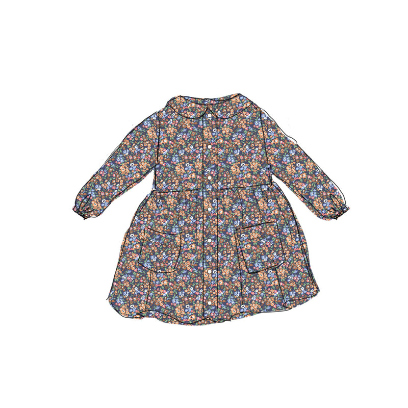 Fall Floral - Smock Dress