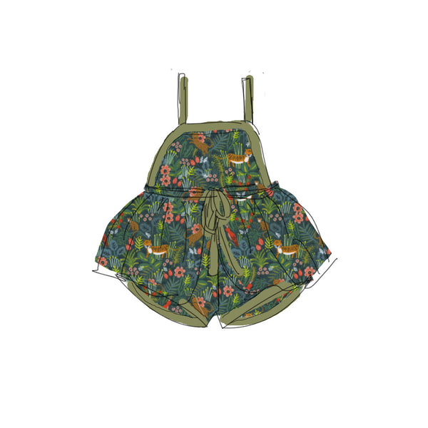 Green Jungle - Summer Romper Set