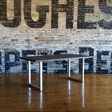 old barn pine dining table