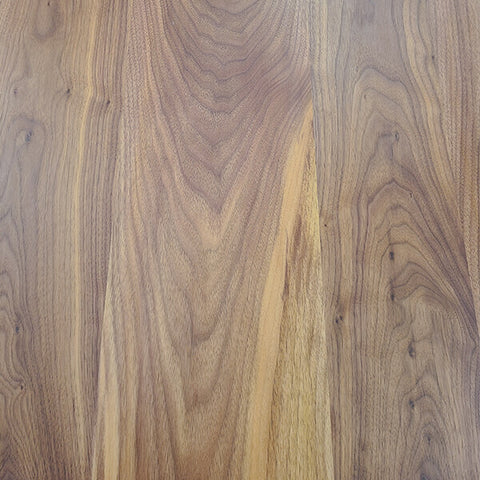 Walnut with a natural lacquer finish