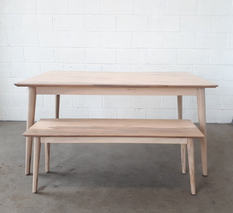 Lars Dining Table and Bench Set