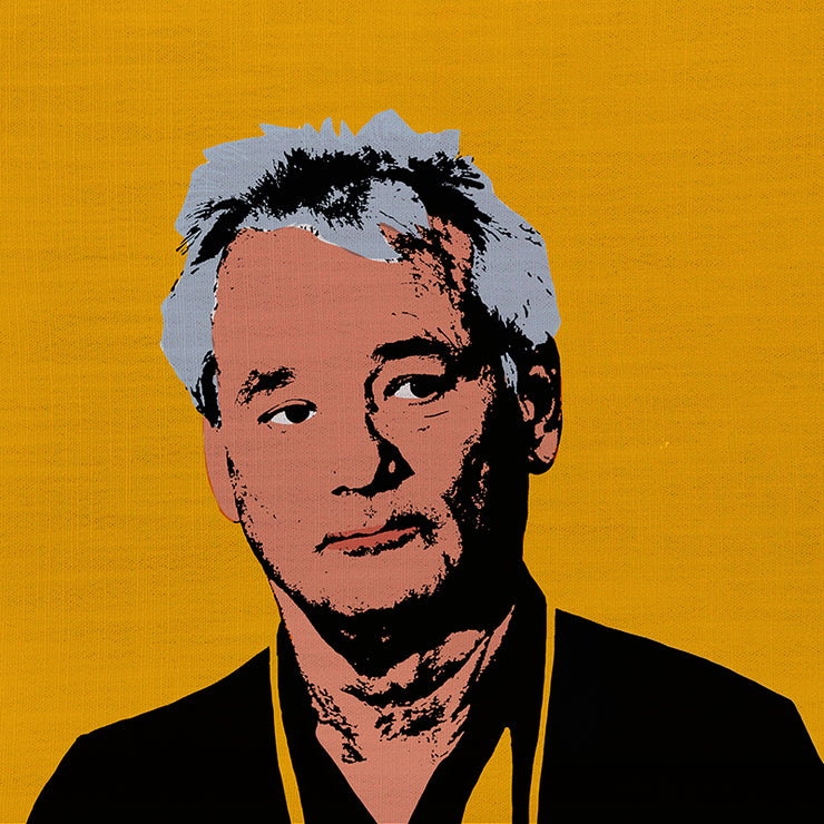 Bill Murray Pillow By Persnickety Design