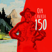 Canada 150 Pillow by Persnickety Design