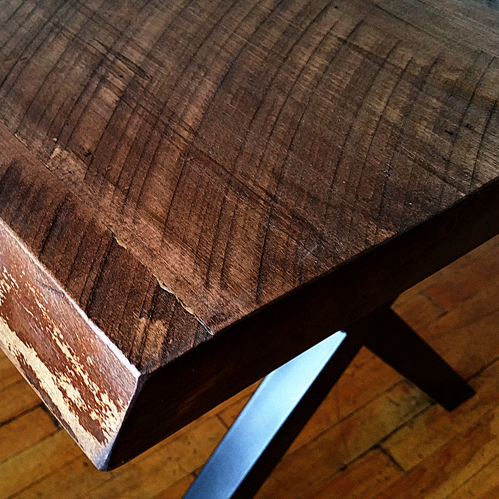 Heritage Maple Live Edge Dining Tables