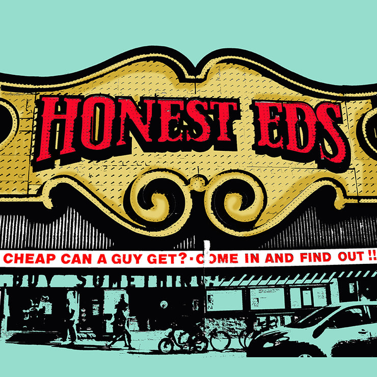 Honest Eds Pillow By Persnickety Design