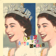 Long Live The Queen Pillow by Persnickety Design
