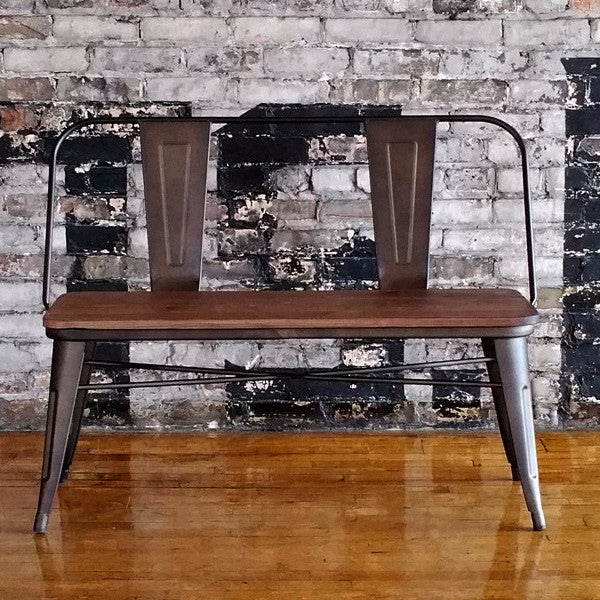 Pierre Dining Bench with back