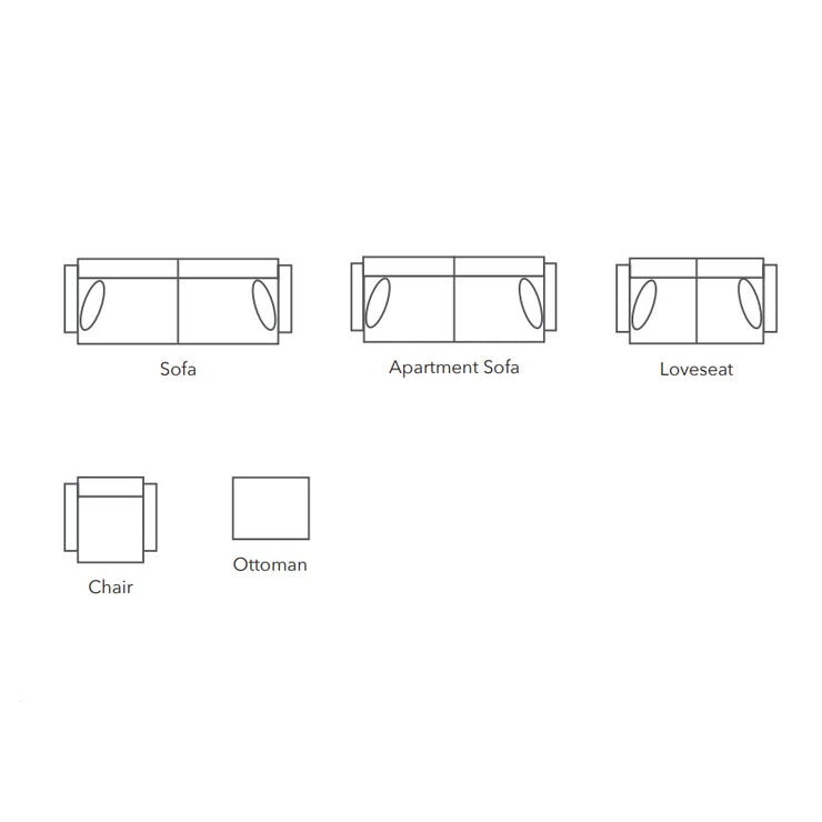 Jacob Sofa Configuration Sheet