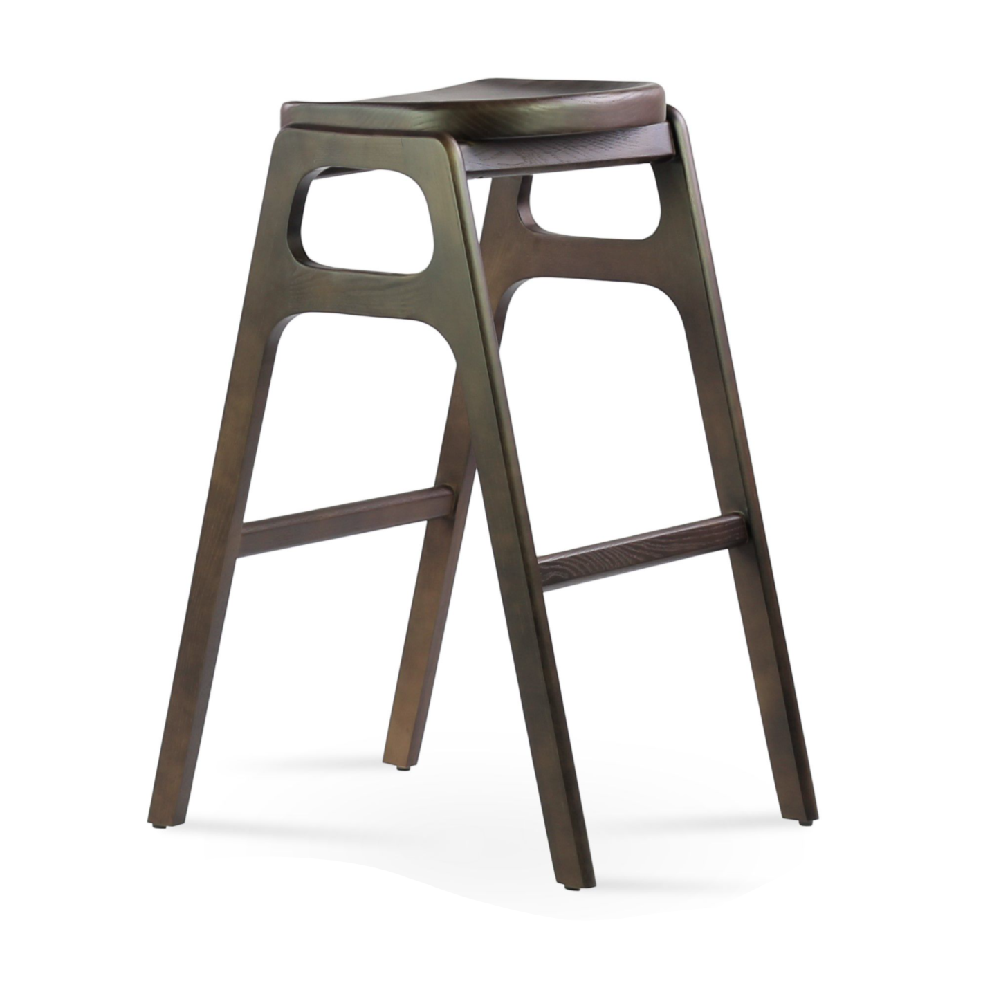 Eiffel Dining Chair with Wood Dowel Base