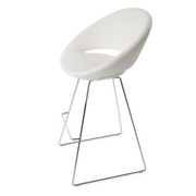 Cresent Wire Leatherette Stool